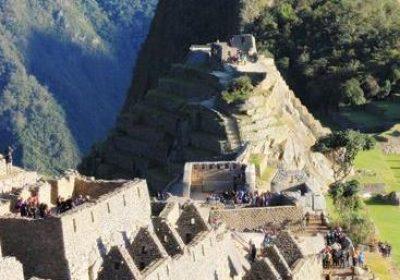 Machu Picchu ruiner i Cusco Peru
