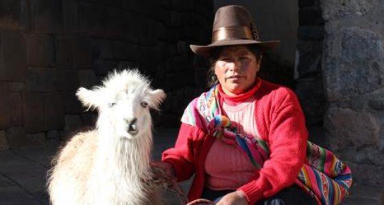 Lokale på vores cusco city tour