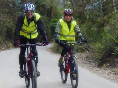 Par nyder biking i Cusco