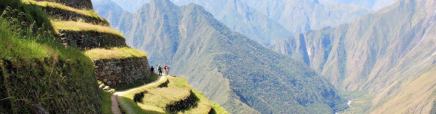 Inkastien vandring Machu Picchu