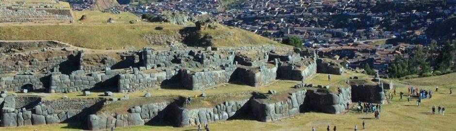 Cusco Peru Sacsayhuaman ruiner