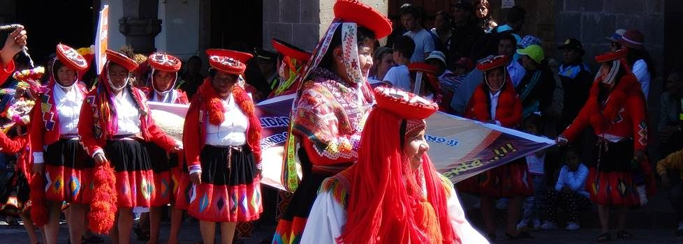 Andesfolk i Cusco by