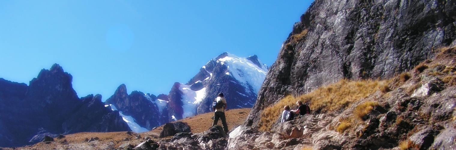 Flotte udsigter under trekking til Machu Picchu